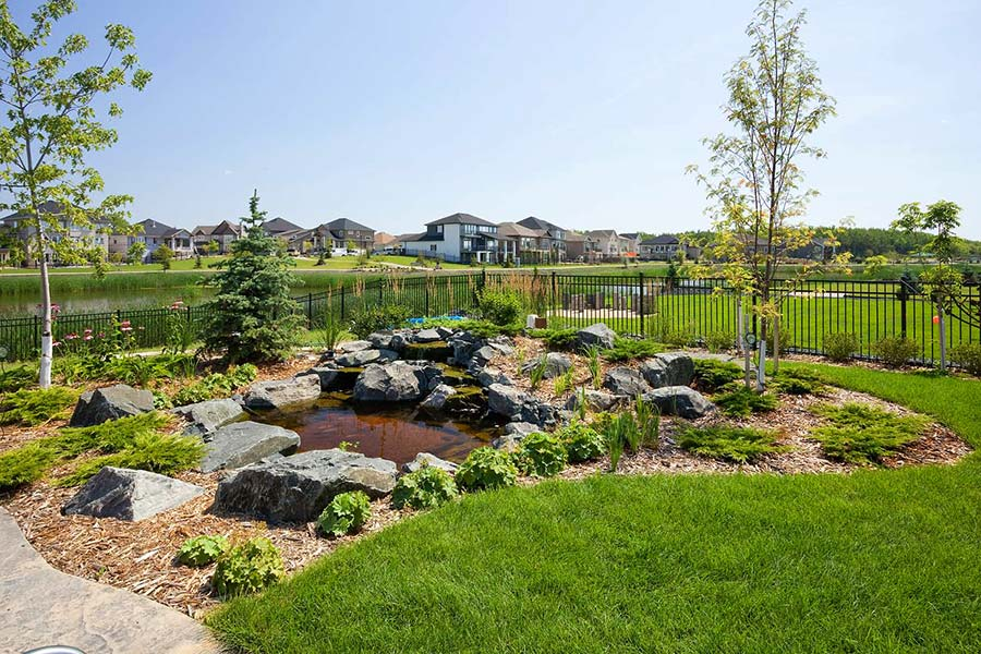 Pond Design, Construction and Landscaping
